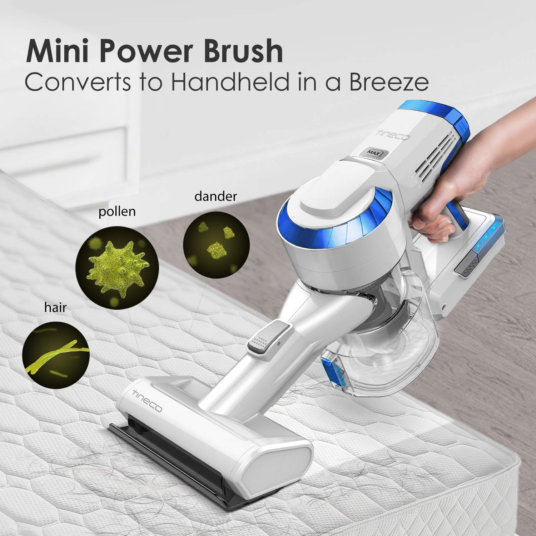 79eb4205731 Amazon.com - Tineco A10 Hero Cordless Stick Vacuum Cleaner Lightweight 350W  Digital Motor Lithium Battery and LED Brush