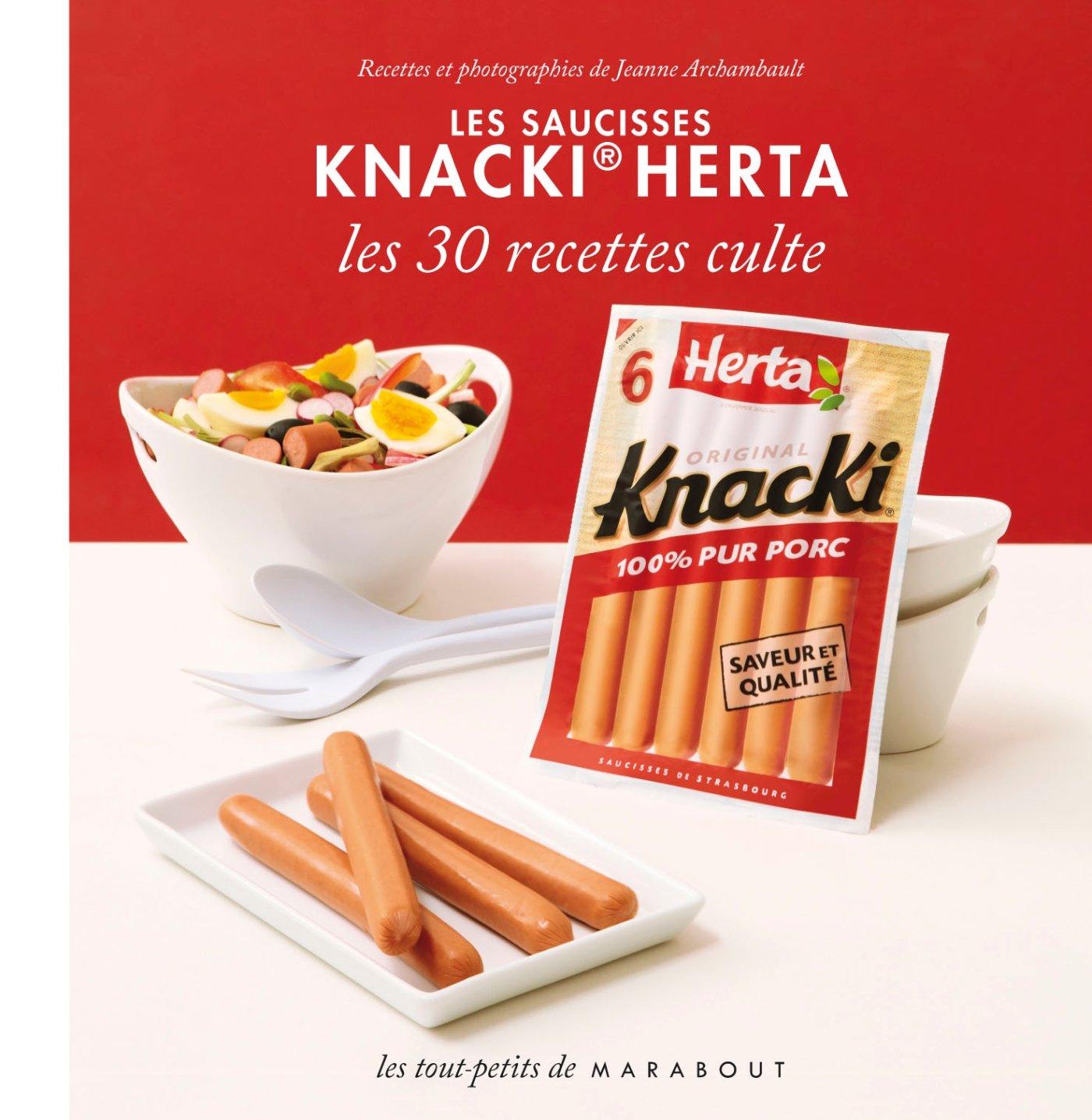 Amazon.fr , Les saucisses Knacki Herta , 30 recettes culte , Jeanne  Archambault , Livres