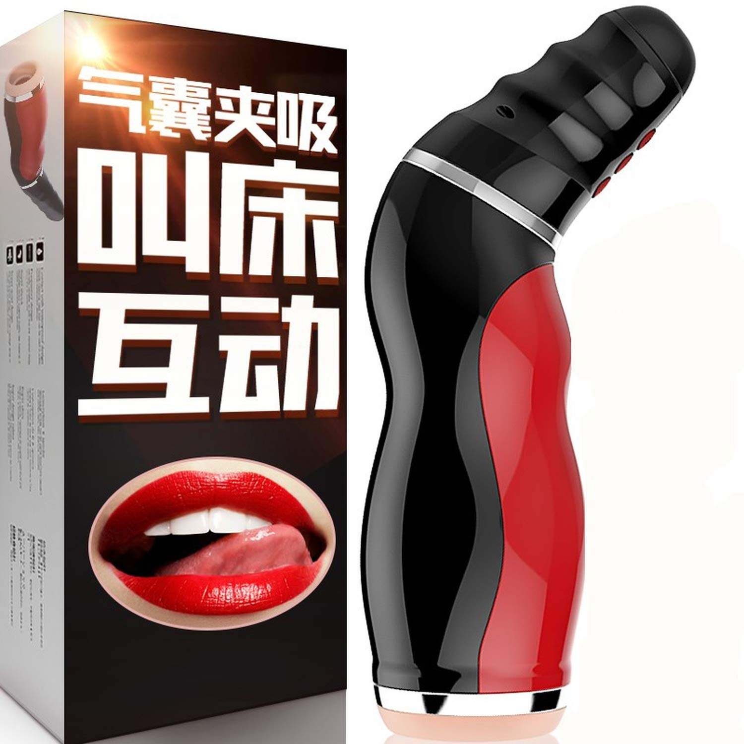 Oral Sex Cup Male Masturbator Vibrator Real Vagina Masturbation,silicone Pussy Mouth Double Sex Toys For Adult Man,deep Throat Sex Products