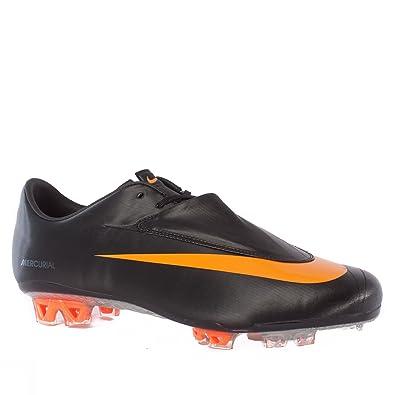 Nike Mercurial Vapor VI FG Mens Soccer Cleats [396125-080] Black/Circuit
