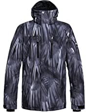 Quiksilver Men's Mission Printed 10K Snow Jacket