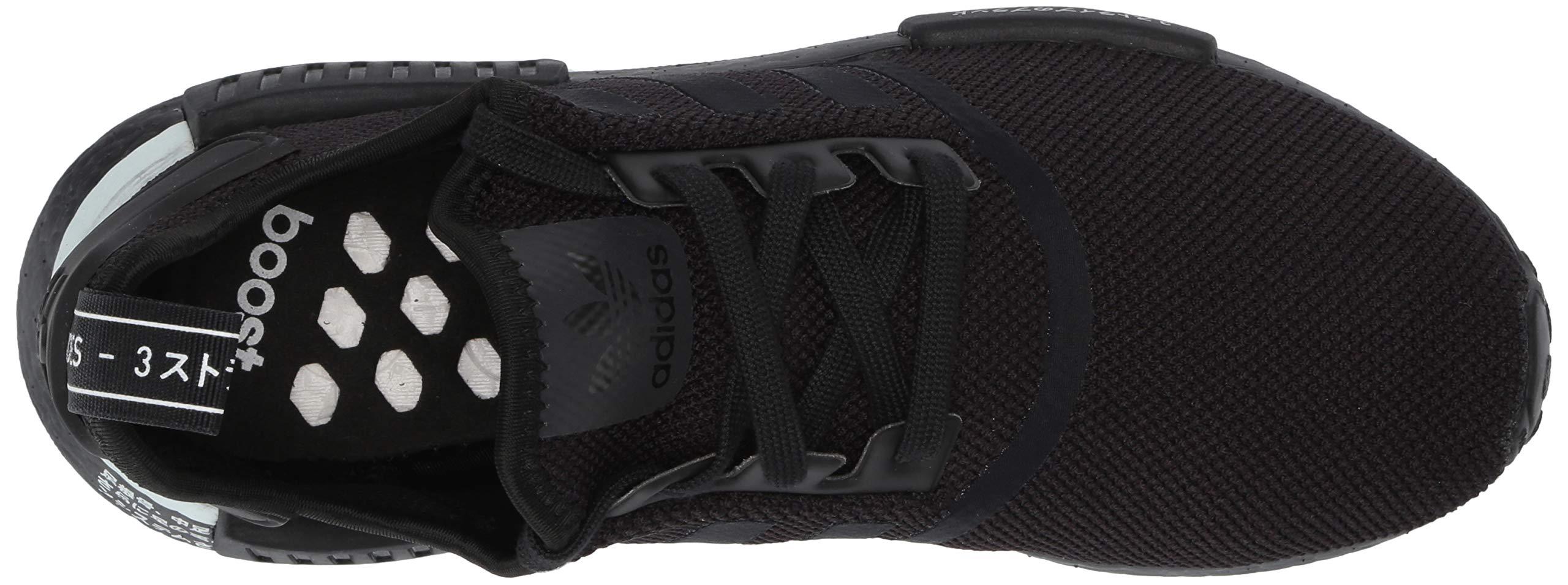 adidas Originals Men's NMD_R1 Running Shoe, Black/White, 4 M US by adidas Originals (Image #8)