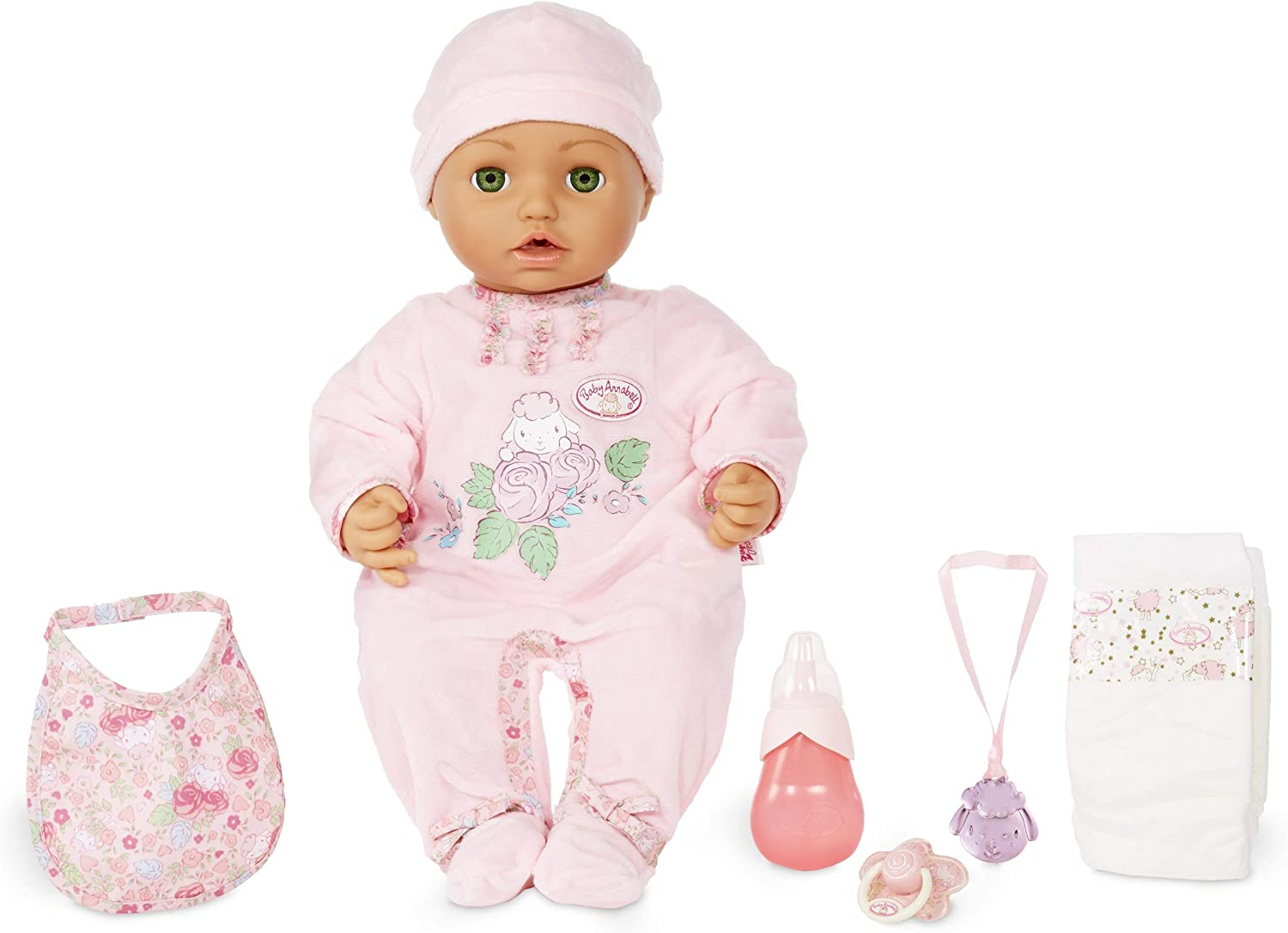 Baby Annabell with Green Eyes Soft-Bodied Baby Doll