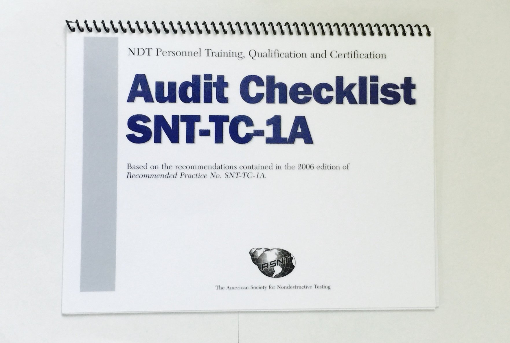 Ndt Personnel Training Qualification Certification Audit