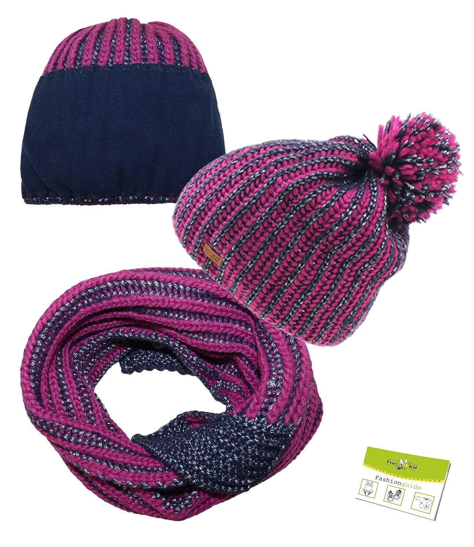 MaxiMo Wintermütze Kindermütze für Mädchen Kinder Mütze uvp:14,99€ 57 °NEU° pink