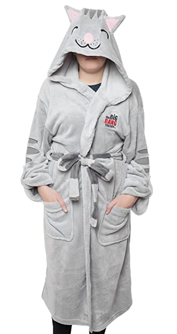 Big Bang Theory Soft Kitty Hooded Robe