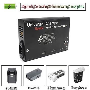 Mavic Pro Cargador de batería universal 4 en 1 HUB de carga para ...