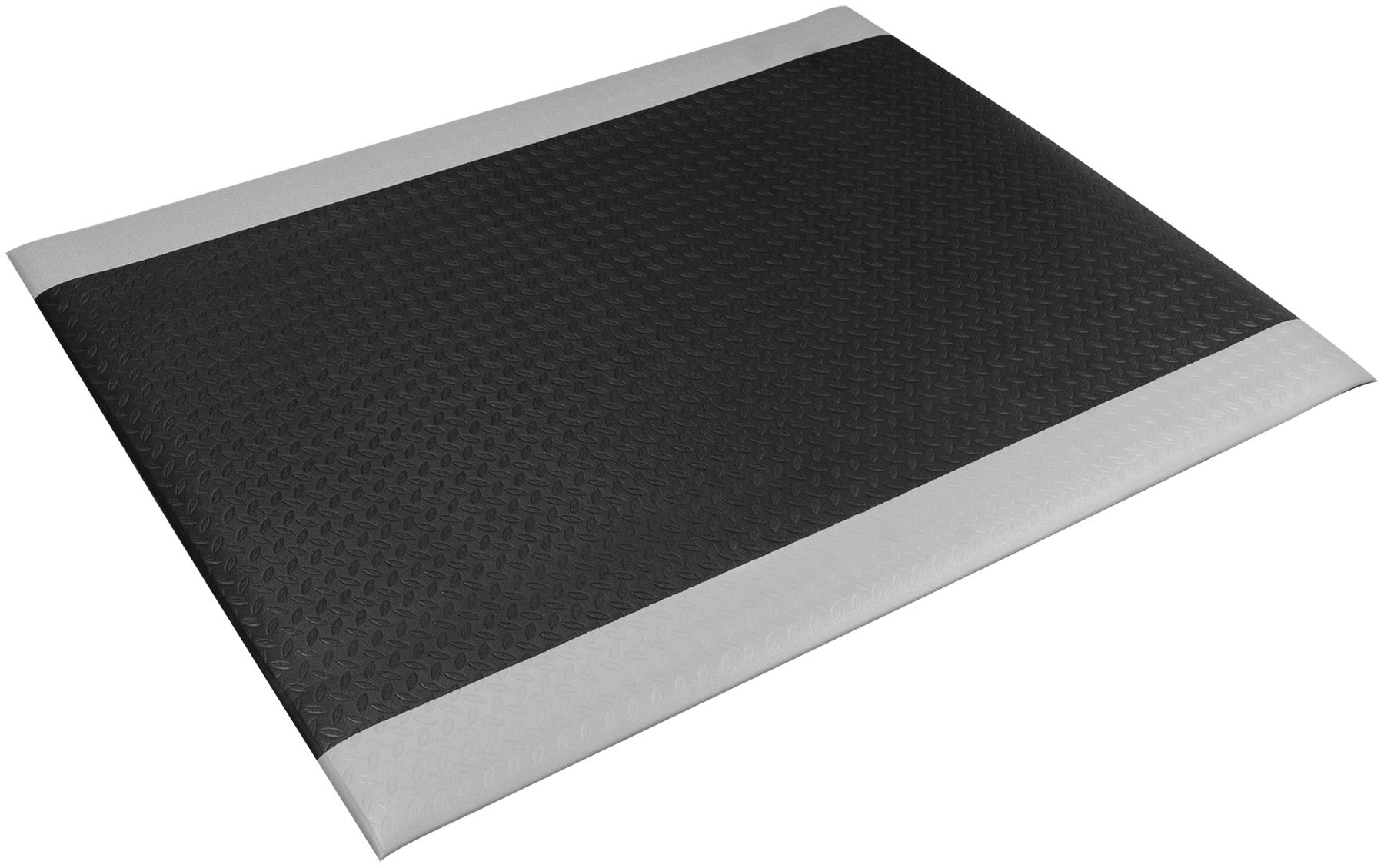 Performance Tool W88983 Vinyl Foam Diamond Pattern Commercial Anti Fatigue Shop Mat (47'' x 36'')