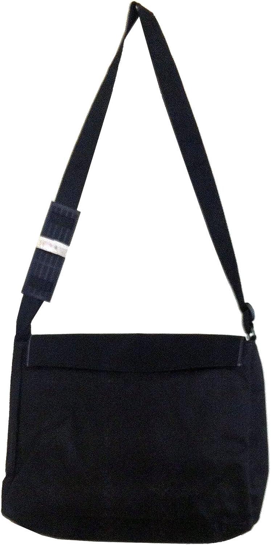 Black Laptop Shoulder Messenger Bag and Small Wire Accessories Case Set Fox Cub