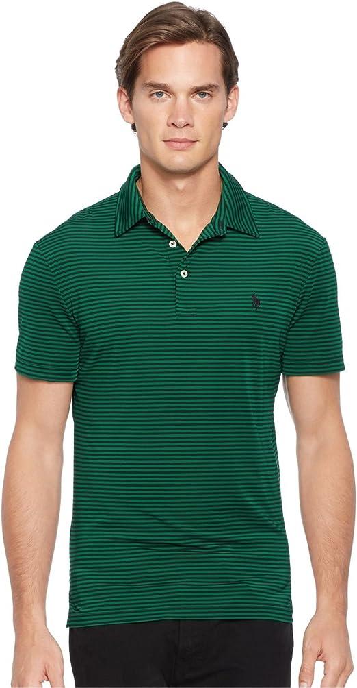 Polo Ralph Lauren para hombre performance Polo de rayas camiseta