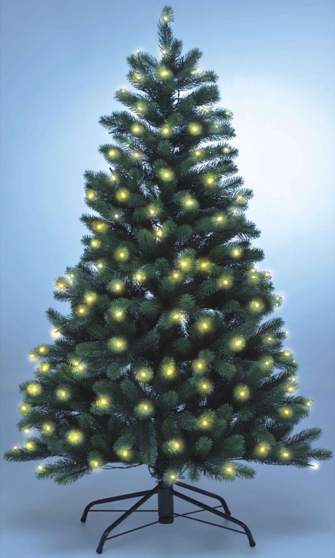 k nstlicher weihnachtsbaum wie echt mit beleuchtung my blog. Black Bedroom Furniture Sets. Home Design Ideas