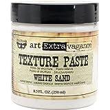 Prima Marketing Art Extravagance Texture Paste, 8.5-Ounce, White Sand