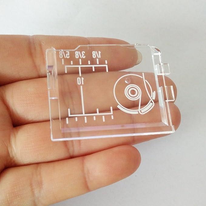 Placa de cubierta Honeysew 75003600 para bobina de máquina de coser: Amazon.es: Hogar