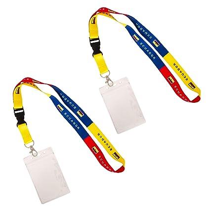 Cordón con diseño de bandera de Ecuador para crucero, 2 ...