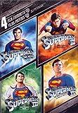 4 Film Favorites: Superman (Superman: The Movie/Superman II/Superman III/Superman IV: The  Quest For Peace) (Bilingual)