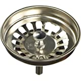 "Uxcell Stainless Steel Kitchen Sink Strainer Drain Stopper with 3"" Dia, 8cm"