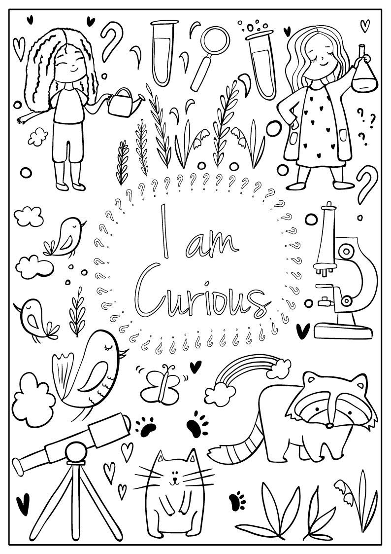 Colouring-Page | Elementary Safety | Bullying activities, Anti ... | 1123x794