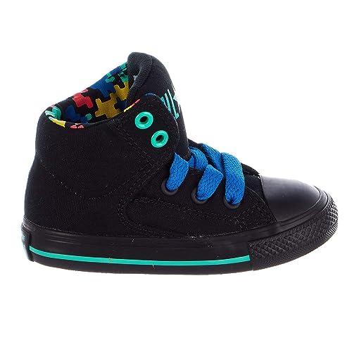 4b7c197a4d55e Converse Kids Chuck Taylor All Star High Street Hi Shoes - Boys