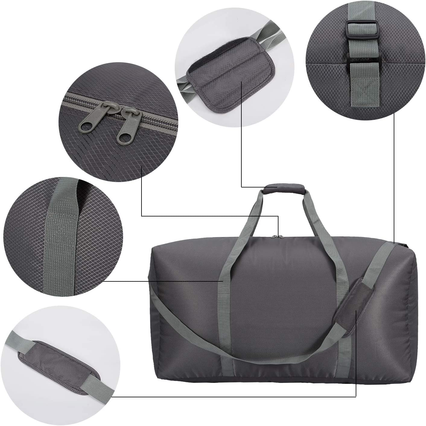 Extra Large Duffel Bag 32.5 inch Lightweight Luggage for Travel