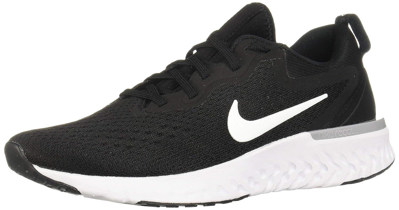 Black White Wolf Grey Nike Women's Odyssey React Running shoes