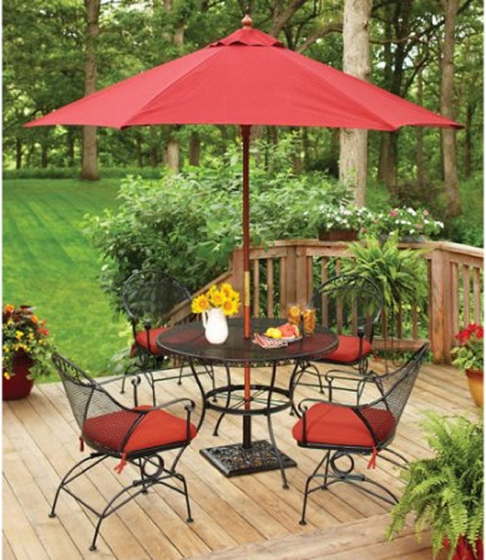 Better Homes and Gardens Clayton Court 5 Piece Wrought Iron Patio