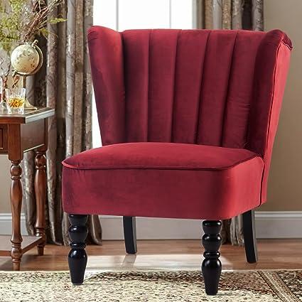 Attrayant Harperu0026Bright Design Accent Chair Armless Chair Leisure Chair Living Room  Furniture Chair Sofa Chair With Rubber