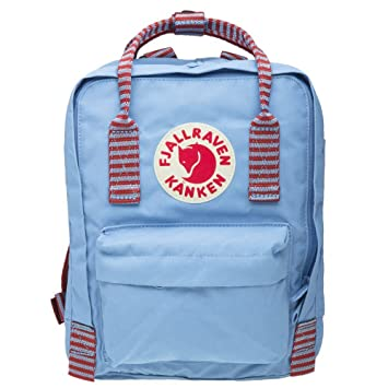 FJÄLLRÄVEN Kånken Mini Mochila, Unisex Adultos, Azul (Air Blue-Striped), 29 Centimeters: Amazon.es: Deportes y aire libre