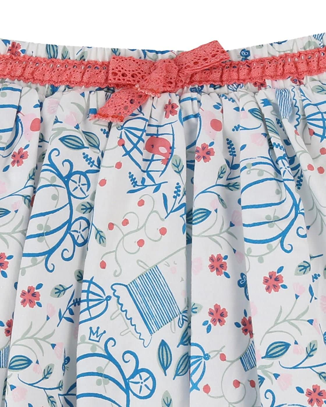 B/éb/é Enfant Fille Princess Carriage Jupe The Essential One Cr/ème EOT502