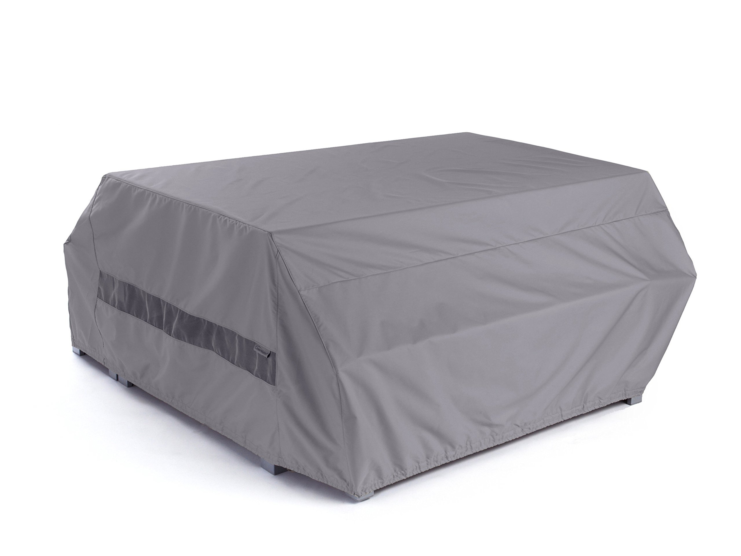 CoverMates – Picnic Table Cover – 76W x 62D x 32H – Elite Collection – 3 YR Warranty – Year Around Protection - Charcoal