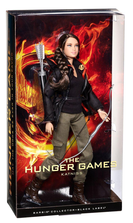 Barbie Collector Hunger Games Katniss Everdeen Doll Mattel W3320