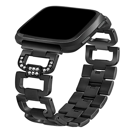 TOOGOO Bandas aplicable a Fitbit Versa, pulseras de repuesto pulseras aplicable a Fitbit Versa reloj