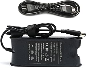 65W 19.5V 3.34A AC Adapter Charger for Dell Inspiron N4010 N4110 N5110 N5010 N5050 N5030 N5040 Inspiron E1405 E1505 1525 1526 1545 1546 1440 1750 Round Power Supply Cord