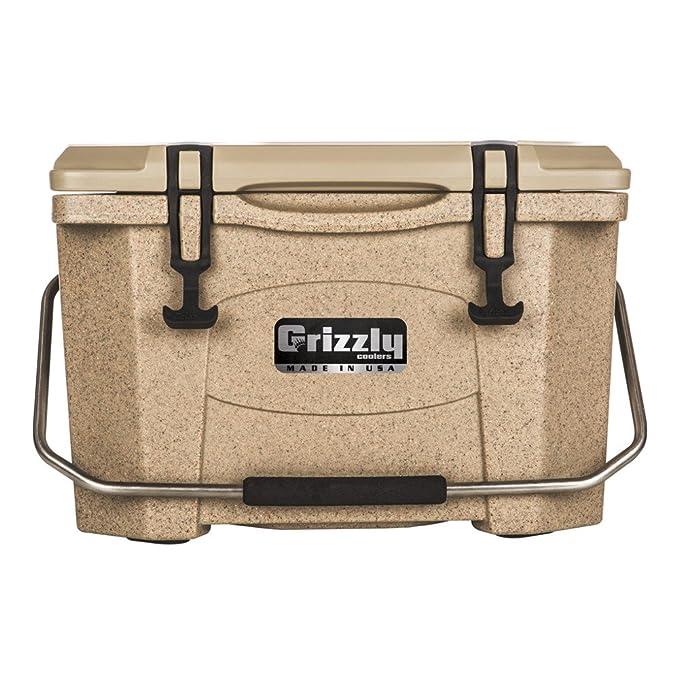 Grizzly 20 Quart Sandstone/Tan Cooler