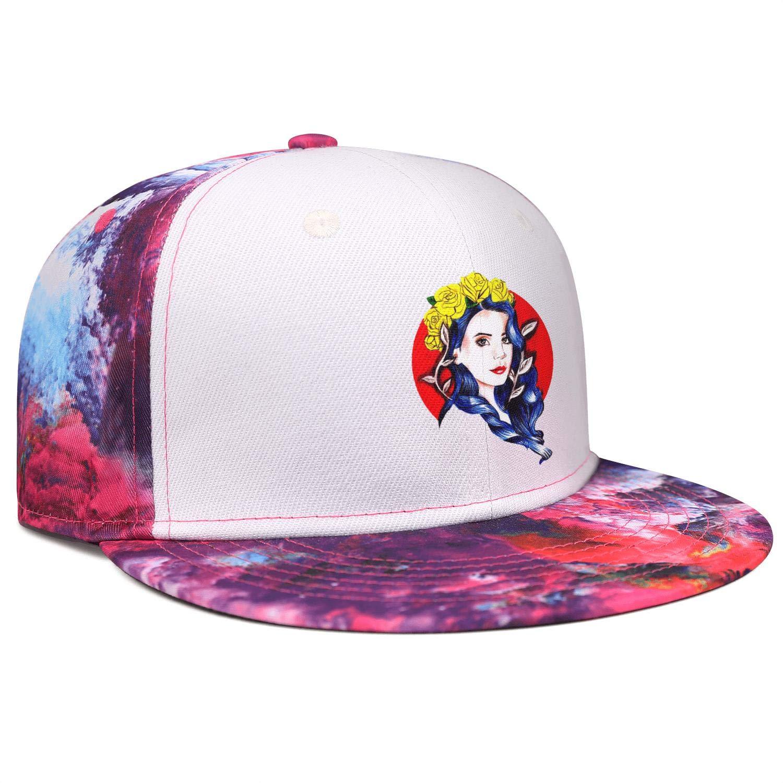Lipsnda Lana-Del-Rey-Black-Logo Best Truck Driver Hat Men//Women Adjustable Hip Hop Baseball Hat