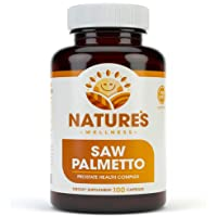 1000mg Saw Palmetto Prostate Supplement, Berry Power + Extract - Maximum Strength...