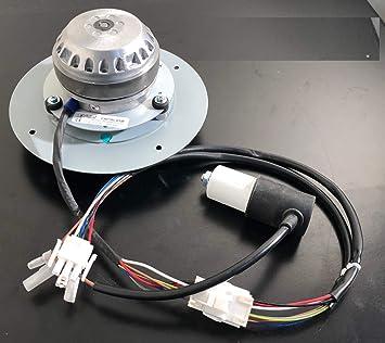 Ventilador extractor de humos estufa de pellets Edilkamin CAF15C-004F o CAF15C-015F: Amazon.es: Bricolaje y herramientas