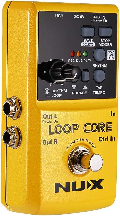 Asmuse Looper Pedal de Efectos para Guitarra Eléctrica para ...