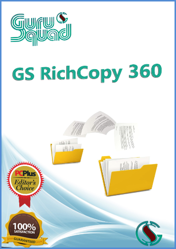 Hard Drive Backup Software - GS RichCopy 360 Data Replication | Mirroring | Synchronization [Download]
