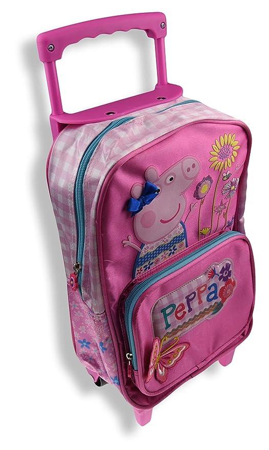 Copywritte Peppa Pig Mochila Infantil Carro, Color Rosa