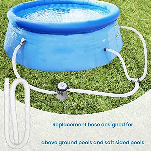 """1.25/"""" Swimming Pool Replacement Hose Pool Pump Accessory For Above Ground Pools"""