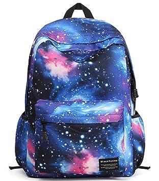 stormiay unisexsegeltuch galaxy muster schule beutel rucksack netter rucksack fr mdchen - Galaxy Muster