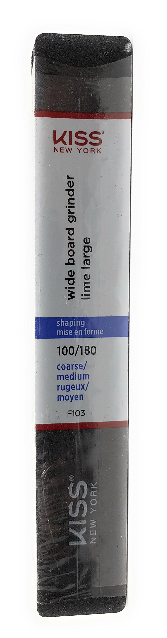 Amazon.com : Kiss Nail File 4 Way Ultra Shiner (12 pcs) : Beauty