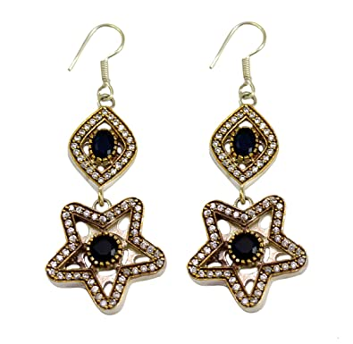 Buy Gauri's Sapphire Gemstone Turkish Victorian Jewellery