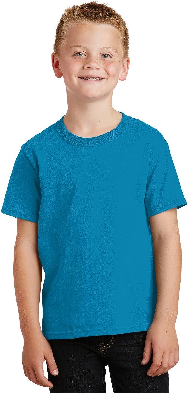 Port /& Company Boys 54 oz 100/% Cotton T Shirt
