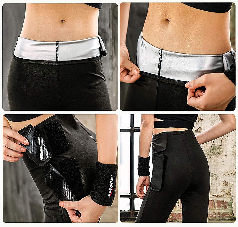 Pantalones para Adelgazar Pantalón de Sudoración Adelgazar ...
