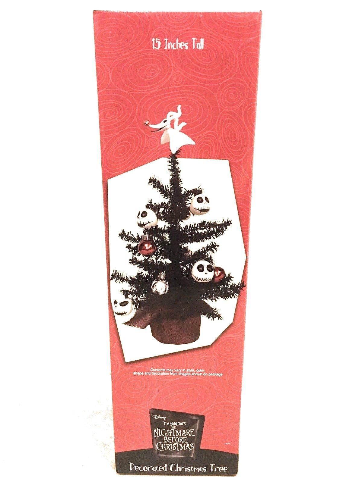 Disney Tim Burton's The Nightmare Before Christmas Decorated Christmas Tree - NBC