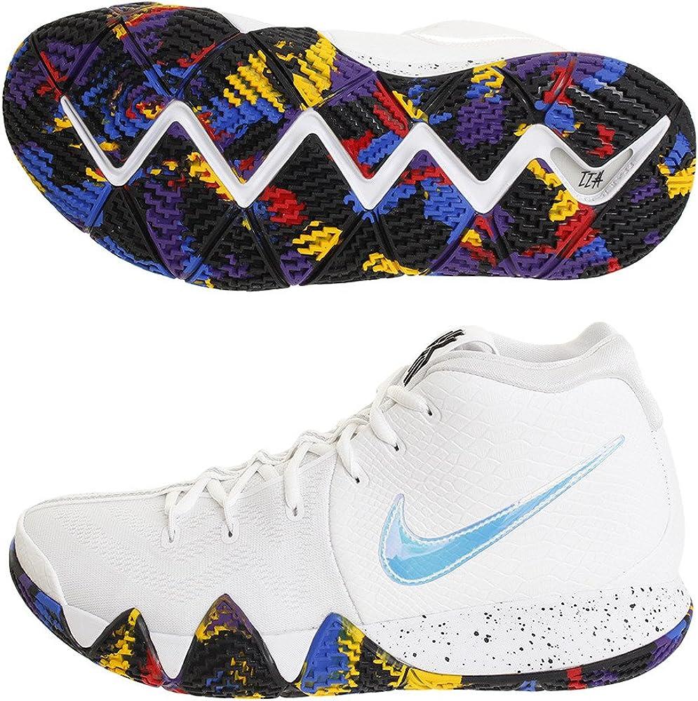 Nike Kyrie 4 EP - Camiseta para Hombre, Color Blanco, Blanco ...