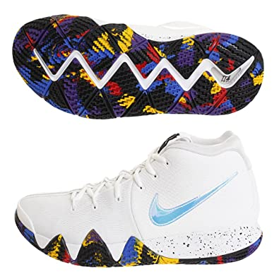 bf2c20c8158 ... real nike mens kyrie 4 ep white multi color 81ad3 248a6