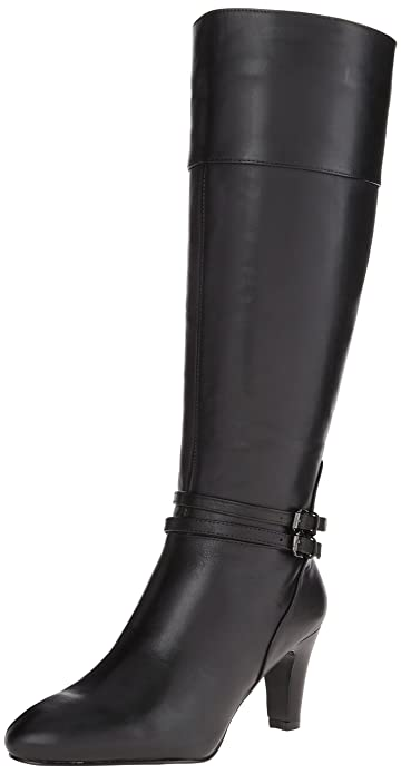 Amazon.com | Bandolino Women's Wiser Leather Riding Boot | Knee-High