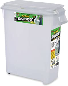 Buddeez Roll Away 50-Quart Pet Food Dispenser (1)
